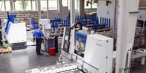 Machining facilities long products